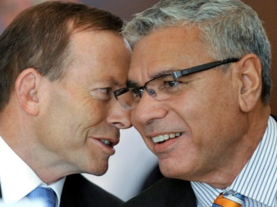 Happier days.   Photograph: Alan Porritt/AAP